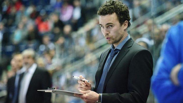 Trenér libereckých hokejistů Filip Pešán.