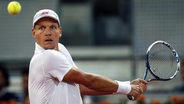 Český tenista Tomáš Berdych si finále v Madridu nezahraje.
