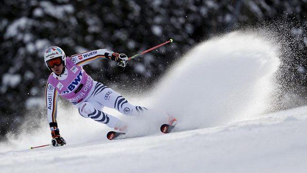 Němec Stefan Luitz při obřím slalomu v Beaver Creeku.