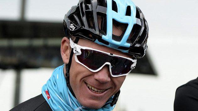 Brit Chris Froome na snímku z prosincového tréninku na Palma de Mallorca.