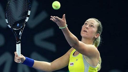 Česká tenistka Denisa Allertová. Ilustrační foto.