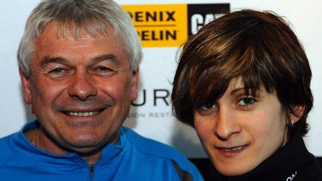Martina Sáblíková a Petr Novák jdou do nové sezóny s optimismem.