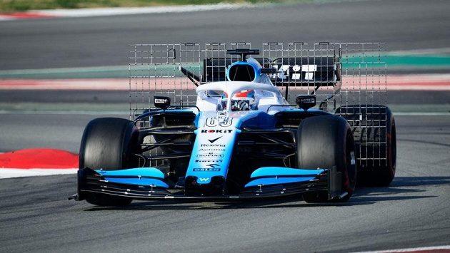 Takhle testoval aerodynamiku tým Williams.