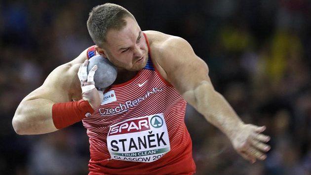 Český koulař Tomáš Staněk nebude na Zlaté tretře chybět.