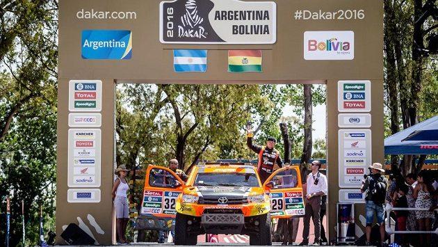 Martin Prokop startuje do prologu Dakaru.