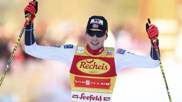 Norský sdruženář Jarl Magnus Riiber vyhrál i druhý závod miniseriálu Seefeld Triple.