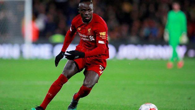 Liverpoolský klenot - senegalský střelec Sadio Mané.