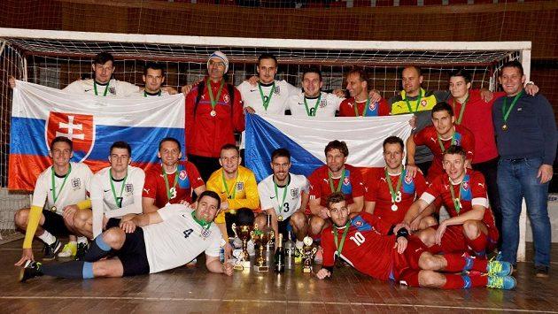 Fotbalová liga firem spojuje český a slovenský fotbal opět v jedné lize