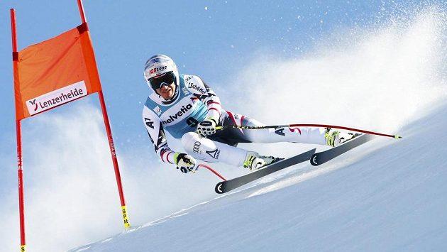 Olympijský šampión Matthias Mayer z Rakouska triumfoval také ve sjezdu v Lenzerheide.