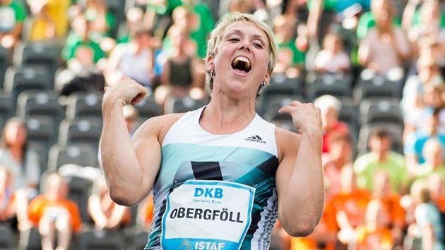 Oštěpařka Christina Obergföllová po atletickém mítinku IAAF World Challenge v Berlíně ukončila kariéru.