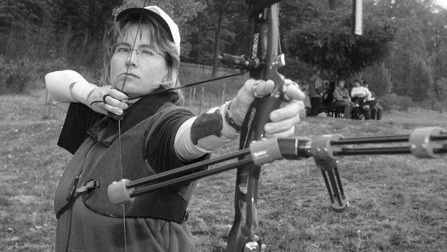 Barbora Horáčková na archivním snímku z roku 2003.
