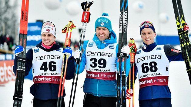 Francouz Maurice Manificat (39) vyhrál závod Světového poháru v běhu na lyžích ve švédském Ulricehamnu.