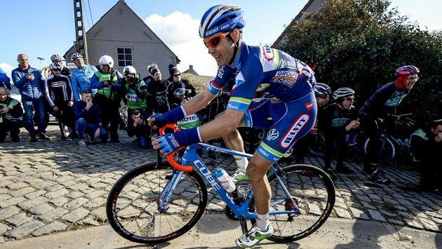 Belgický cyklista Antoine Demoitié.