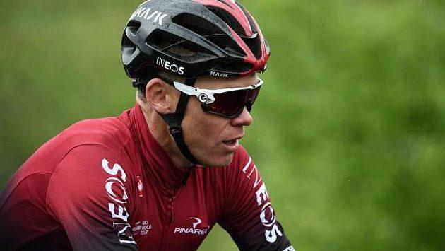 Slavný britský cyklista Chris Froome.