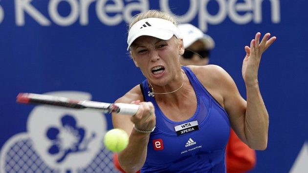 Dánská tenistka Caroline Wozniacká získala další titul.