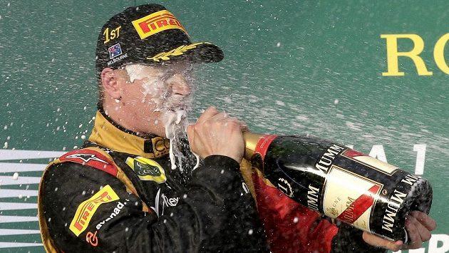 Räikkönen si užívá triumfu v úvodním závodu sezóny na Velké ceně Austrálie
