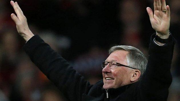 Trenér Alex Ferguson se loučí s fanoušky Manchesteru United.