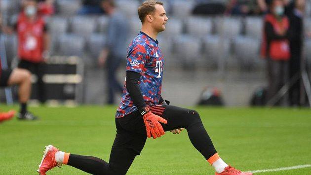 Fotbalový brankář Manuel Neuer vynechal první trénink německé reprezentace před nejbližšími kvalifikačními duely o postup na na mistrovství světa 2022.