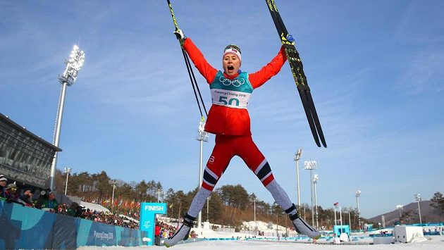 Norka Ragnhild Hagaová překvapivě ovládla na olympiádě volnou desítku.