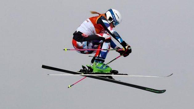 Česká skikrosařka Nikol Kučerová.