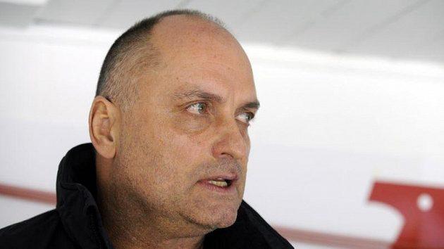 Odvolaný trenér Litvínova Vladimír Kýhos