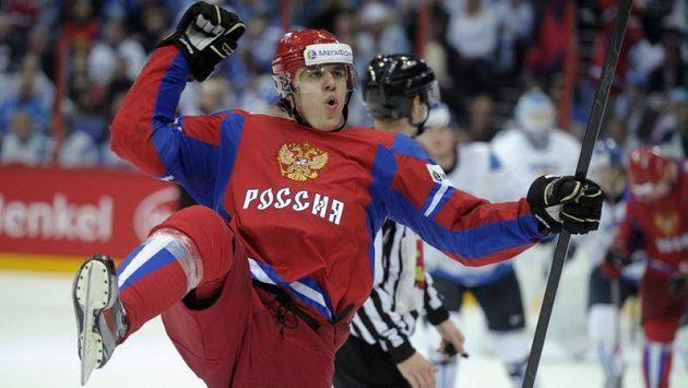 Jevgenij Malkin byl zvolen nejužitečnějším hráčem mistrovství světa