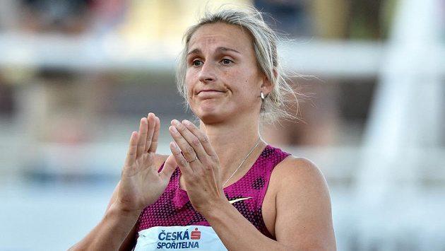 Oštěpařka Barbora Špotáková se letos na Zlaté tretře neobjeví.