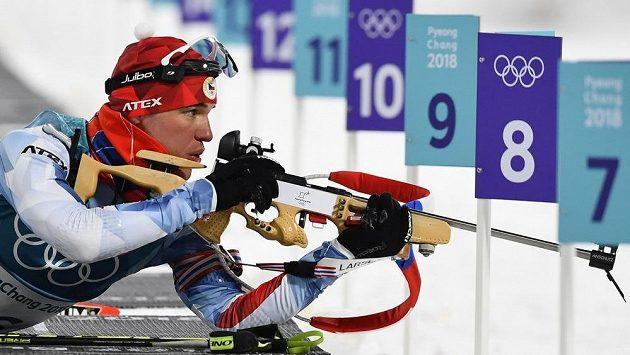 Michal Krčmář při svém životním závodě na olympijských hrách.