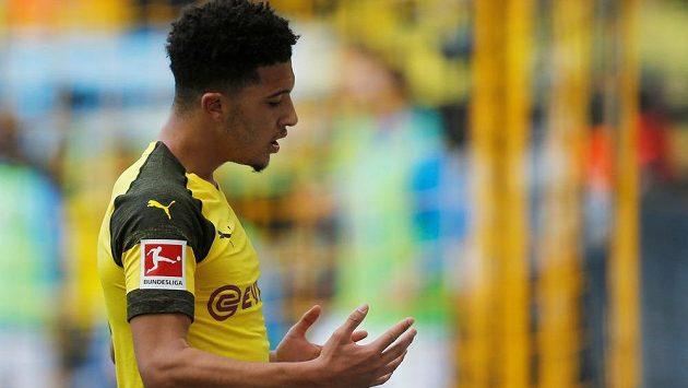 Jadon Sancho zajistil Borussii Dortmund dvěma góly tři body.