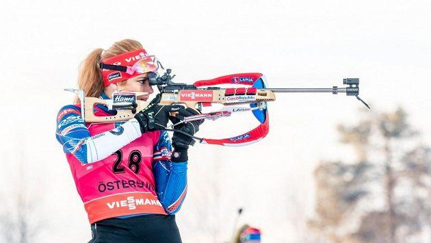 Biatloniska Gabriela Koukalová