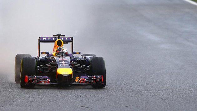Německý jezdec ze stáje Red Bull Sebastian Vettel.