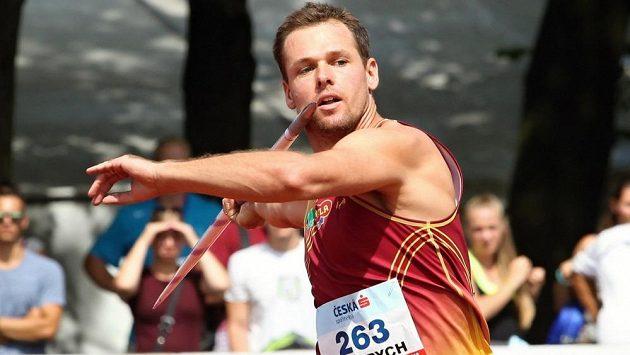 Petr Frydrych při mistrovství republiky v Kladně.