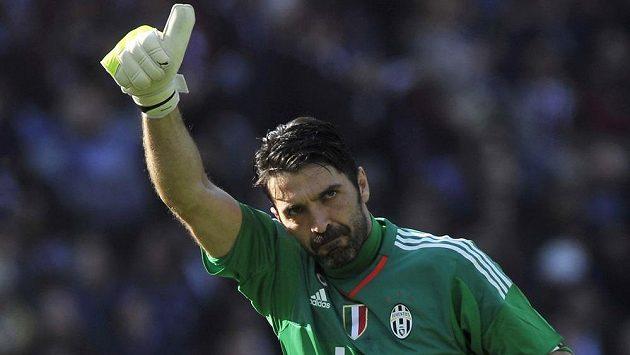 Brankář Juventusu Turín Gianluigi Buffon.