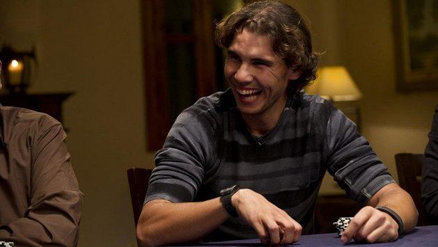 Rafael Nadal se pokeru začal aktivně věnovat v roce 2012.