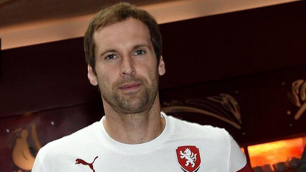 Brankář české fotbalové reprezentace Petr Čech