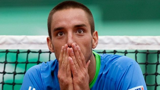 Srbský tenista Viktor Troicki.