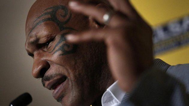 Bývalý světový šampión v boxu Mike Tyson.