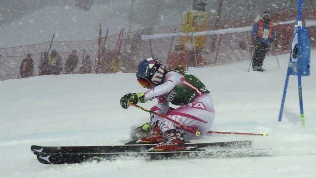 Americká lyžařka Mikaela Shiffrinová