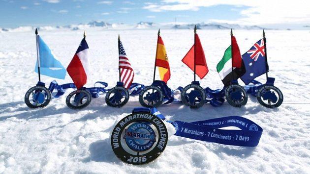Sedm kontinentů, sedm maratónů, sedm dní. Jdete do toho?
