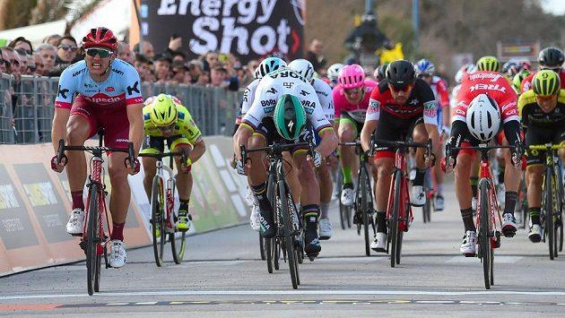 Německý spurtér Marcel Kittel se dočkal prvního vítězství v nové cyklistické sezóně (ilustrační foto).