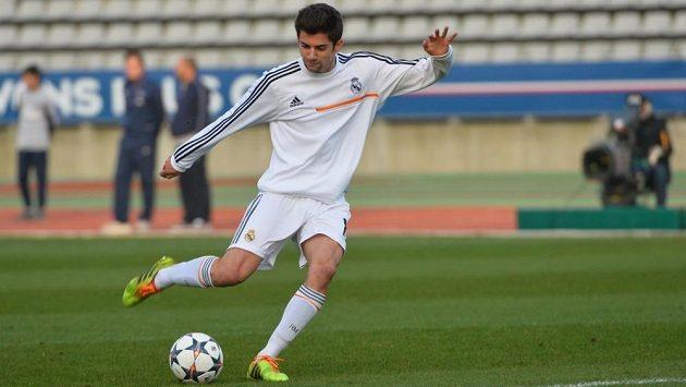 Enzo Zidane, nejstarší ze synů Zinedina Zidana.