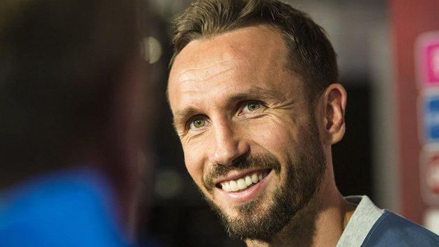 Obránce české reprezentace Tomáš Sivok.
