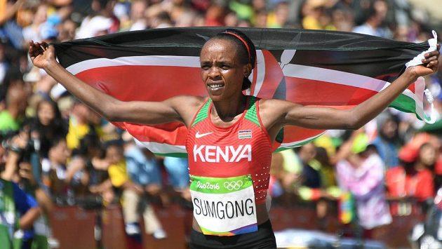 Keňská vytrvalkyně Jemima Sumgongová.