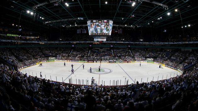 Finská Hartwall Arena - dějiště letošního MS.