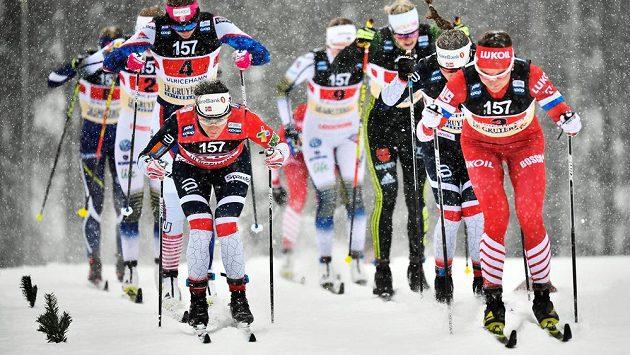 Norské lyžařky vyhrály i druhou štafetu v této sezoně Světového poháru.