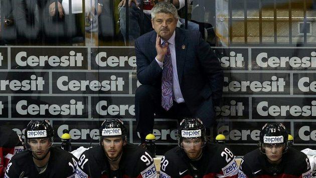 Trenér kanadské hokejové reprezentace Todd McLellan.