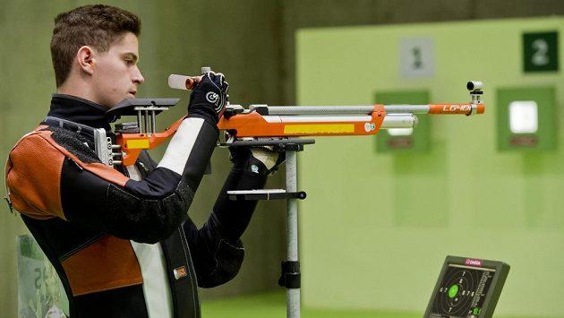 Český střelec Filip Nepejchal neuspěl v kvalifikaci ve vzduchové pušce.