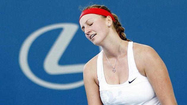 Petra Kvitová podlehla na turnaji v Brisbane ve druhém kole Rusce Anastasii Pavljučenkovové.