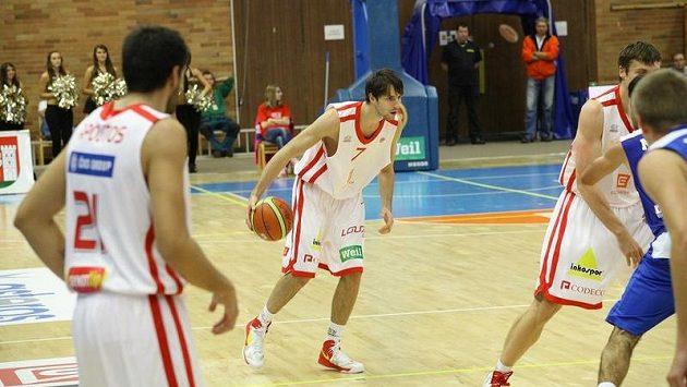 Basketbalisté Nymburka. Ilustrační snímek