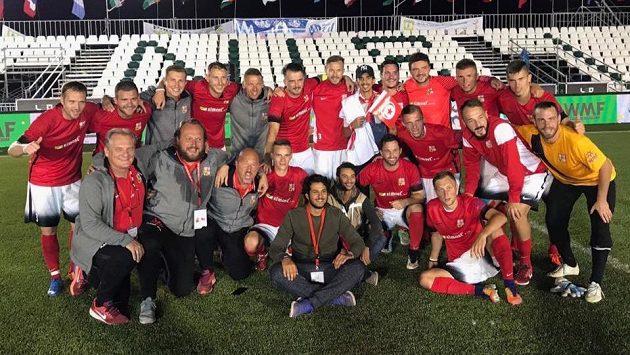 Česká reprezentace v malém fotbalu na MS v Tunisku slavila zlato. V Austrálii obhajobu nezvládla.